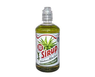 CukrStop CukrStop sirup se sladidly z rostliny stévie - příchuť aloe vera
