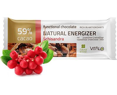 Funkčné čokoláda Natu ral Energizer 25g