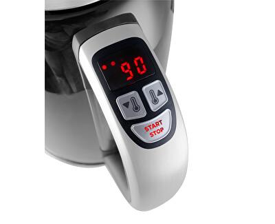 Rýchlovarná kanvica s termoreguláciou nerezová 1,7 l