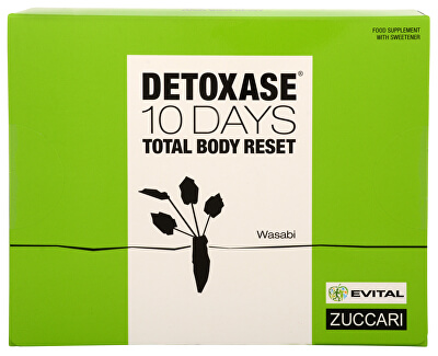 Zuccari Detoxase 10 days Total Body Reset 10 sáčkov - ZĽAVA - expirácia 03/2019