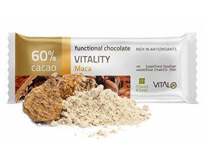 Vitalo Funkční čokoláda Vitality - Maca 25g