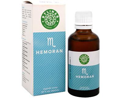 Bylinář Hemoran 50 ml