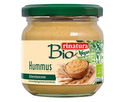 Rinatura Bio Hummus krém se sezamem bezlepkový 180g