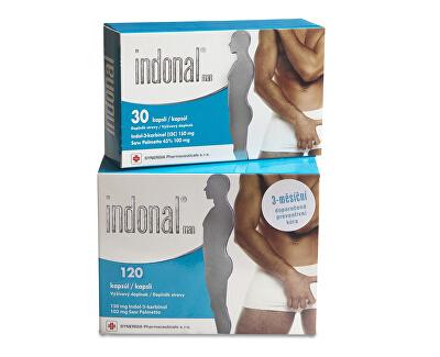 Synergia Indonal Man 120 kapslí + 30 kapslí