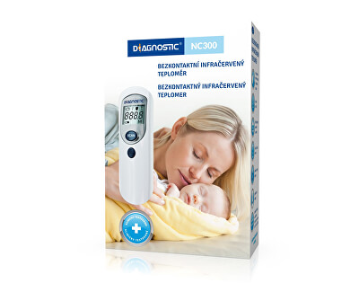Biotter Pharma Infračervený bezdotykový teploměr Diagnostic NC 300