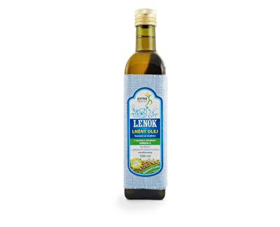 Extra Olej Lněný olej 500ml