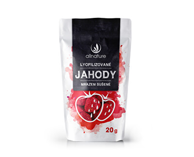 Allnature Lyofilizované jahody 20 g