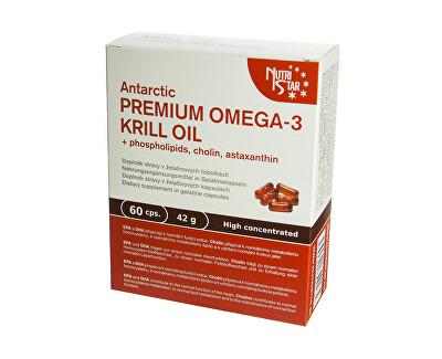 Nutristar Premium Omega 3 Krill Oil 60 kapslí