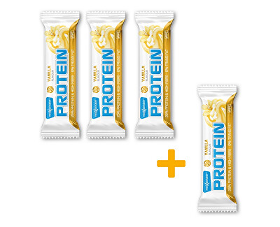Max sport Tyčinka proteinová Protein vanilka 60 g AKCE 3+1 ZDARMA