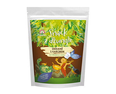 Iswari BIO Snack z džungle - Snídaně s karobem 300 g