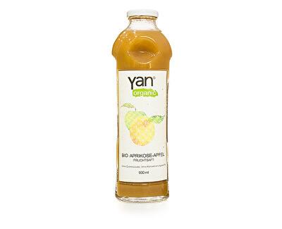 Yan Bio Šťáva meruňka jablko 100% bez cukru 930ml