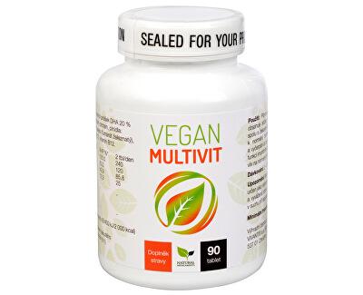 Natural Medicaments Vegan Multivit 90 tabliet