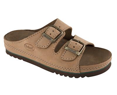 Scholl Zdravotní obuv AIR BAG Nublined-U - hnědá