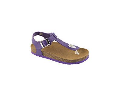 Scholl Zdravotní obuv BOA VISTA B/S KID SynLea-J - fialová