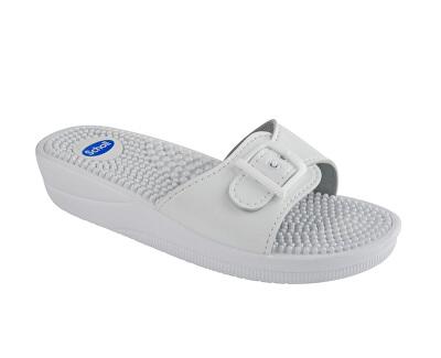 Scholl Zdravotní obuv NEW MASSAGE - bílá