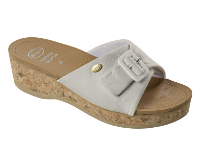 Scholl Zdravotní obuv WAPPY Lea - bílá