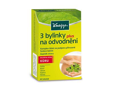 Kneipp® 3 bylinky na odvodnenie 60 kapsúl