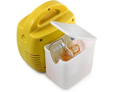Kompresorový inhalátor LD-211C - žlutý