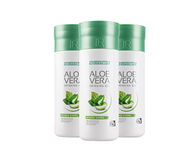 Lifetakt Aloe Vera Drinking Gel Intense Sivera 3 x 1000 ml