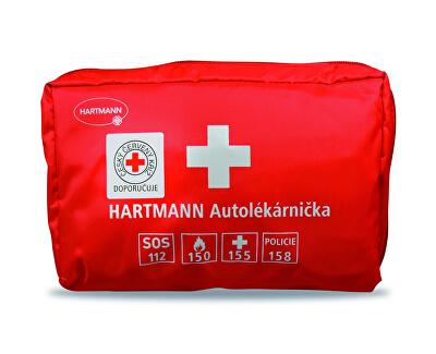 Hartmann Autolekárnička textilná - červená