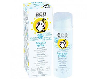 Eco Cosmetics Baby Dětský opalovací krém Neutral SPF 50+ BIO 50ml