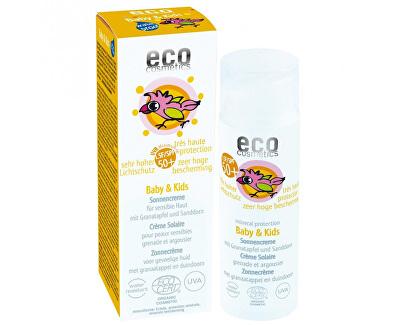 Eco Cosmetics Baby Detský opaľovací krém SPF 50+ BIO 50 ml