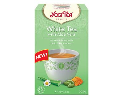 Yogi Tea Bio Bílý s Aloe Vera Yogi Tea 17 x 1,8 g