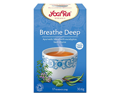 Yogi Tea Bio Dýchat zhluboka Yogi Tea 17 x 1,8 g
