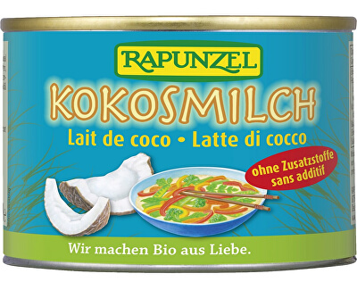 Rapunzel Bio kokosové mléko RAPUNZEL 200 ml
