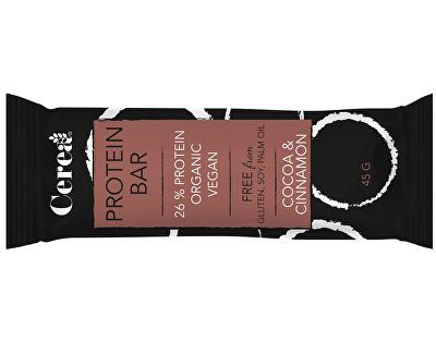 Cerea Bio proteinová tyčinka PROTEIN BAR Kakao & Skořice 45g