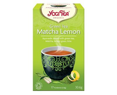 Yogi Tea Bio Zelený čaj Matcha Citrón Yogi Tea 17 x 1,8 g