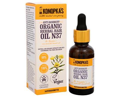 Dr. Konopka´s Bylinný olej na vlasy č. 37 proti lupům 30 ml