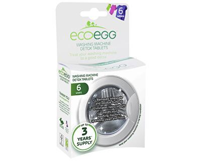 Ecoegg Čistící tablety do pračky Detox 6 ks