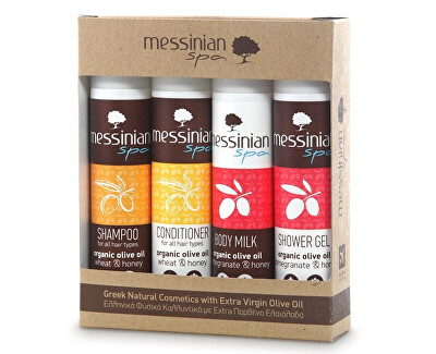 Messinian Spa Dárková sada SET 8 4 x 55 ml