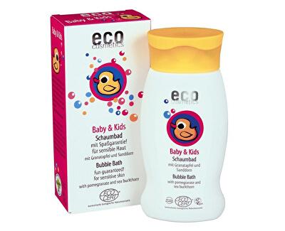 Eco Cosmetics Dětská bublinková koupel BIO s granátovým jablkem a rakytníkem 200ml