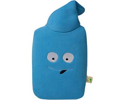 Hugo-Frosch Dětský termofor Eco Junior Comfort s fleecovým obalem - modrý