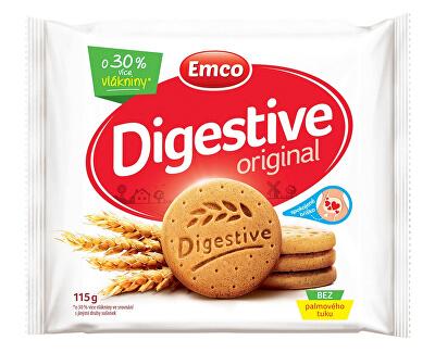 EMCO Digestive Original 115g - křehké sušenky
