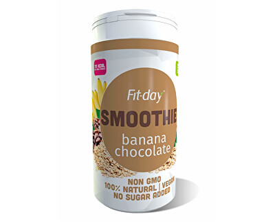 FIT-DAY FIT-DAY Plant based smoothie BANANA CHOCOLATE 600 g