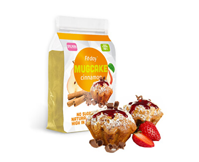 FIT-DAY FIT-DAY Protein Mugcake CINNAMON 600 g