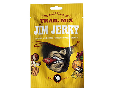 Jim Jerky Jerky Trail mix krůtí 35g B30