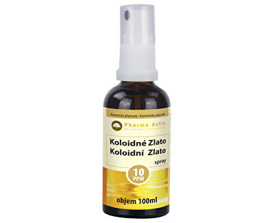 Pharma Activ Koloidní zlato 10ppm 100 ml spray