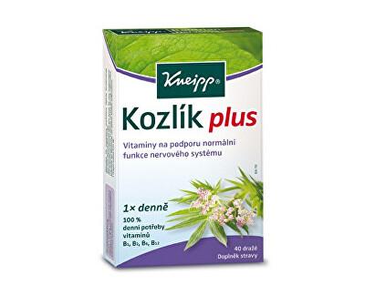 Kneipp - bylinky Kozlík plus 40 tablet