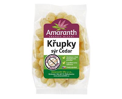 Amaranth life Křupky sýr čedar 70g