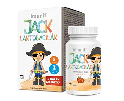 Simply You Laktobacily Jack Laktobacilák Imunit 72 tabliet