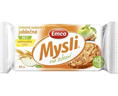 EMCO Mysli Ovesné sušenky jablečné 60g
