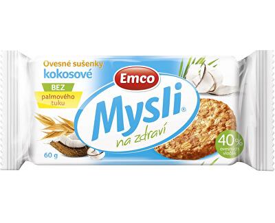 EMCO Mysli Ovesné sušenky kokosové 60g