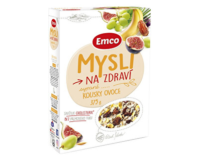 EMCO Mysli - Sypané s kousky ovoce 375g