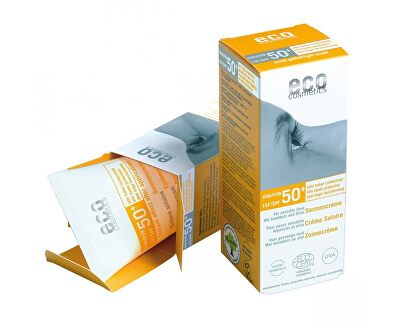 Opalovací krém SPF 50+ BIO s lehce tónovacím účinkem 75ml