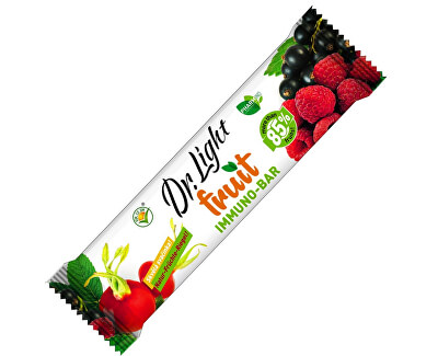 Pharmind Dr. Light Fruit immuno-bar 10 x 30 g