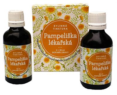 Dr. CLARK Pampeliška lékařská bylinná tinktura 2 x 50 ml - SLEVA - bez krabičky